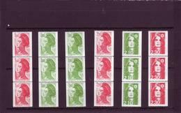 Lot De Roulettes Avec N° Rouge - N°2192 - 2378 - 2424 -2379 - 2627 - 2628 - (FACIALE 5,44 Euros) - Ungebraucht