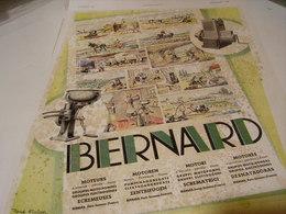 ANCIENNE PUBLICITE MOTEUR  BERNARD-MOTEURS 1941 - Other