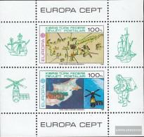 Turkish-Cyprus Block4 (complete.issue.) Unmounted Mint / Never Hinged 1983 Europe - Cyprus (Turkey)