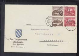 Dt. Reich Brief 1940 Bilshausen ZD - Briefe U. Dokumente