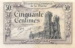 .D.18-2158: CHAMBRE DU COMMERCE 50 CENTIMES. DEPARTEMENT DE LA MARNE - Chambre De Commerce