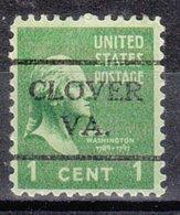 USA Precancel Vorausentwertung Preo, Locals Virginia, Clover 716 - Vereinigte Staaten