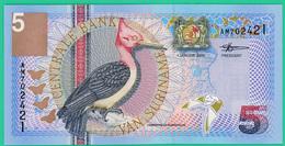 5 Gulden - Suriname - 2000 - N° AM702421 -  Neuf - - Surinam