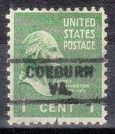 USA Precancel Vorausentwertung Preo, Locals Virginia, Coeburn 729 - Vereinigte Staaten