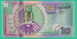 10 Gulden - Suriname - 2000 - N° AR507667-  Neuf - - Surinam