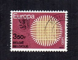 Belgio - 1970 - Europa  CEPT - Usato - (FDC12036) - Europa-CEPT