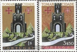 Portugal 910-911 (kompl.Ausg.) Gestempelt 1962 Tomar - 1910-... République