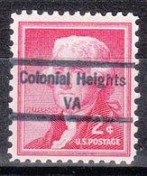 USA Precancel Vorausentwertung Preo, Locals Virginia, Colonial Heights 848 - Vereinigte Staaten