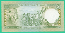 5 Pounds (livres) - Syrie - 1982 - N° -  Neuf - - Syrie
