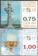 Vatikanstadt 1738-1739 (complete Issue) Unmounted Mint / Never Hinged 2012 Eucharistic Congress - Unused Stamps