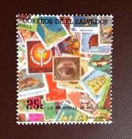 El Salvador 1987 Stamp Day MNH - El Salvador