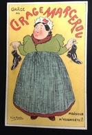 Cirage Marcerou  Joli Chromo Calendrier Illustrateur Le Moel  ? Femme  Chaussures  1898 - Calendriers