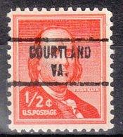 USA Precancel Vorausentwertung Preo, Locals Virginia, Courtland 734 - Vereinigte Staaten