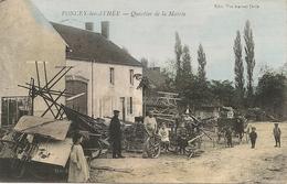 PONCEY Les  ATHEE - Quartier De La Mairie (  Matériels Agricoles   Métier - France