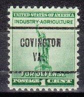 USA Precancel Vorausentwertung Preo, Locals Virginia, Covington 257 - Vereinigte Staaten