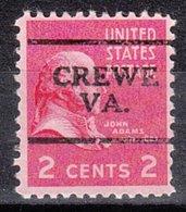USA Precancel Vorausentwertung Preo, Locals Virginia, Crewe 701 - Vereinigte Staaten