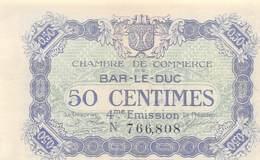 .D.18-2167 : CHAMBRE DU COMMERCE 50 CENTIMES. BAR LE DUC. MEUSE. - Chamber Of Commerce