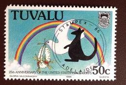 Tuvalu 1986 Stampex MNH - Tuvalu