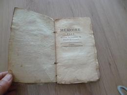 1775 Cellot Paris Mémoire Présidente Saint Vincent Contre Duc De Richelieu Justice 136 Pages - 1701-1800