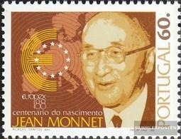 Portugal 1755 (kompl.Ausg.) Postfrisch 1988 Monnet - 1910-... République