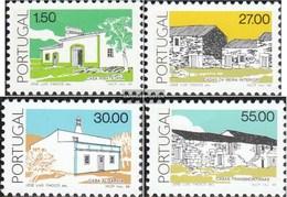 Portugal 1748-1751 (kompl.Ausg.) Postfrisch 1988 Architektur - 1910-... République