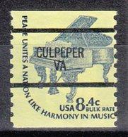USA Precancel Vorausentwertung Preo, Bureau Virginia, Culpeper 1615C-87 - Vereinigte Staaten