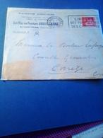 Lettre A Entete MACHINES AGRICOLES  Les Fils De FRANCOISDEGUILLAUME 1936 EYMOUTIERS - Agricoltura