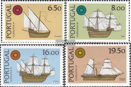Portugal 1504x-1507x (complete Issue) Unmounted Mint / Never Hinged 1980 LUBRAPEX'80 - 1910-... República
