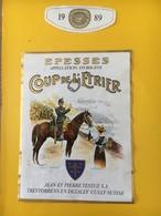 8875 -  FSG Le Brassus Gymnastique  1890 -1990 Suisse Epesses Coup De L'Etrier 1989 - Etiquettes
