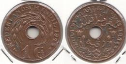 Indie Orientali Olandesi 1 Cent 1945 Km#317 - Used - India