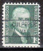 USA Precancel Vorausentwertung Preo, Locals Virginia, Culpeper 841 - Vereinigte Staaten