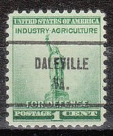 USA Precancel Vorausentwertung Preo, Locals Virginia, Daleville 713 - Vereinigte Staaten