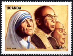 UGANDA OUGANDA 1v Mint Neuf MNH** - Mother Theresa - Teresa Enfance - Charity - - Mère Teresa