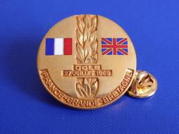 Pin's Athlétisme - Rencontre Junior France Grande Bretagne - 27 Juillet 1969 - Dole Jura - Stade Municipal (PE84) - Athletics