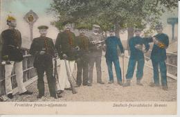 Frontière Franco-Allemande - Douane
