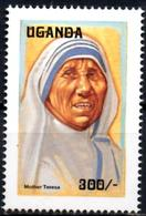 UGANDA OUGANDA 1v Mint Neuf MNH** - Mother Theresa - Teresa Enfance - Charity - Childhood Kindheit  Infancia Infanzia - Mère Teresa