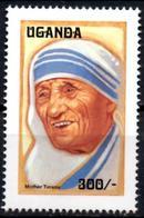 UGANDA OUGANDA 1v Mint Neuf MNH** - Mother Theresa - Teresa Enfance - Charity - Childhood Kindheit  Infancia Infanzia - Mother Teresa