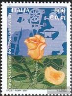 Italien 2765 (completa Edizione) MNH 2001 Giorno Il Vittime - 6. 1946-.. Republik