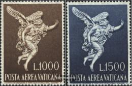 Vatikanstadt 391-392 (complete Issue) Unmounted Mint / Never Hinged 1962 Airmail - Vatican