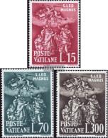 Vatikanstadt 366-368 (complete.issue.) Unmounted Mint / Never Hinged 1961 Pope Leo I. - Vatican
