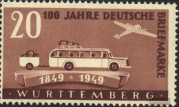 Franz. Zone-Württemberg 50 Unmounted Mint / Never Hinged 100 J.Stamps - French Zone