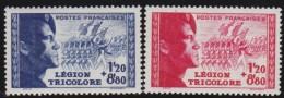 France    .     Y&T   .      565/566     .        **    .    Neuf  SANS Charniere  .    /    .     MNH - Francia