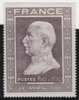 France    .     Y&T   .     606         .        **    .    Neuf  SANS Charniere  .    /    .     MNH - France