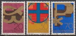 Lichtenstein 1967 MiNr.482 - 484 Christliche Symbole ( 1717 ) Günstige Versandkosten - Liechtenstein