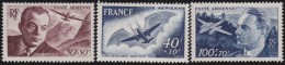 France    .     Y&T   .      PA  21/23        .        **    .    Neuf  SANS Charniere  .    /    .     MNH - 1927-1959 Mint/hinged