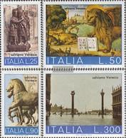 Italien 1400-1403 (completa Edizione) MNH 1973 UNESCO-Azione - 6. 1946-.. Republik