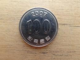 Koree Du Sud  100  Won  2007  Km 35.2 - Corée Du Sud