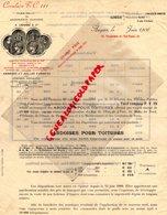 49- ANGERS-RARE  FACTURE ARDOISES ARDOISE TOITURES- G. LARIVIERE-CIRCULAIRE T.C 111- MINISTRE TRAVAUX PUBLICS 1906 - Artigianato