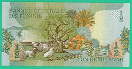 1/2 Dinar - Tunisie - 1973 - N° A/12 744417 -  Neuf - - Tunisia