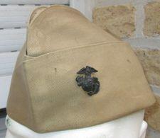 Calot USMC Marines Corée/Vietnam - Headpieces, Headdresses